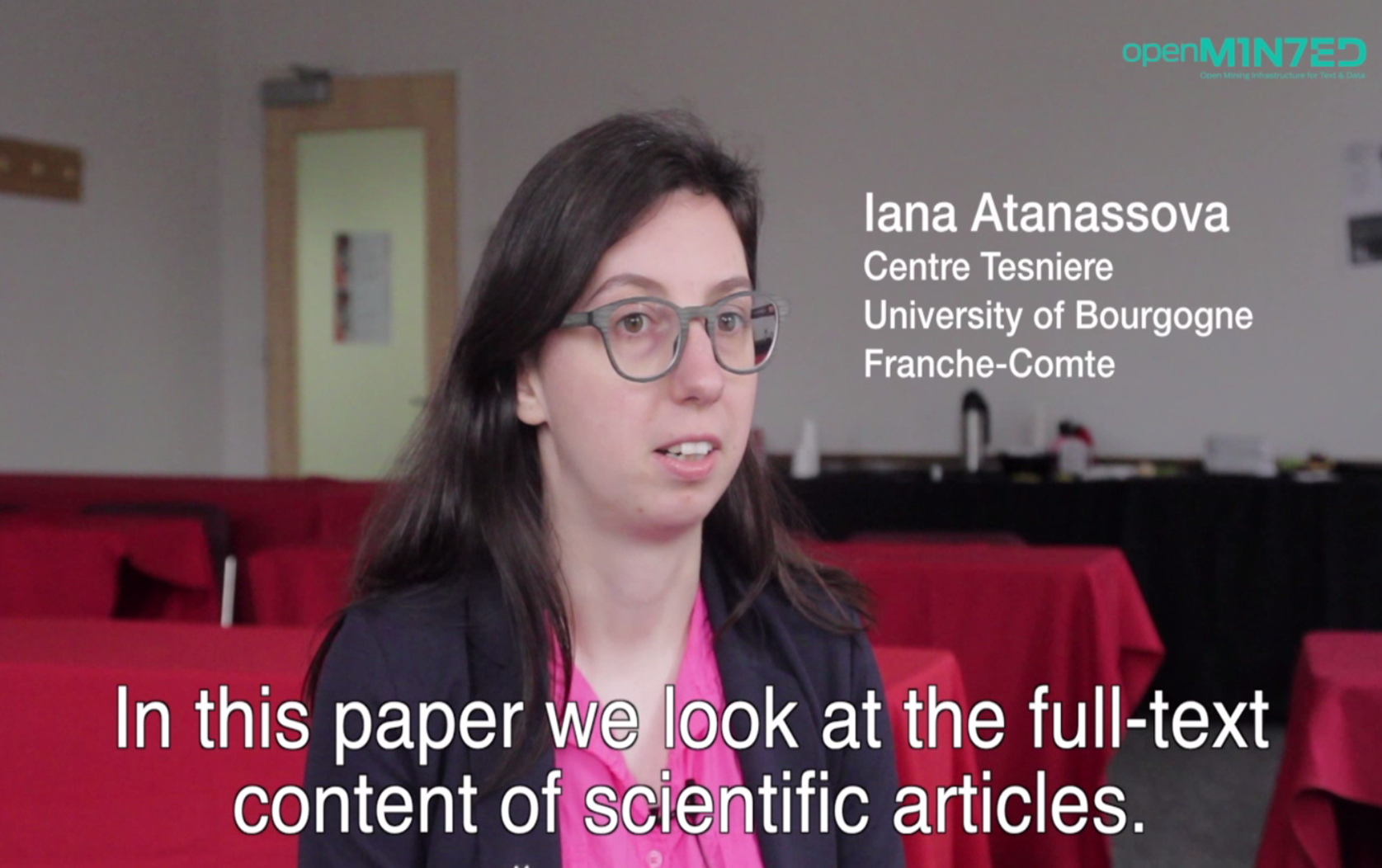 Providing insight into the structure of scientific papers