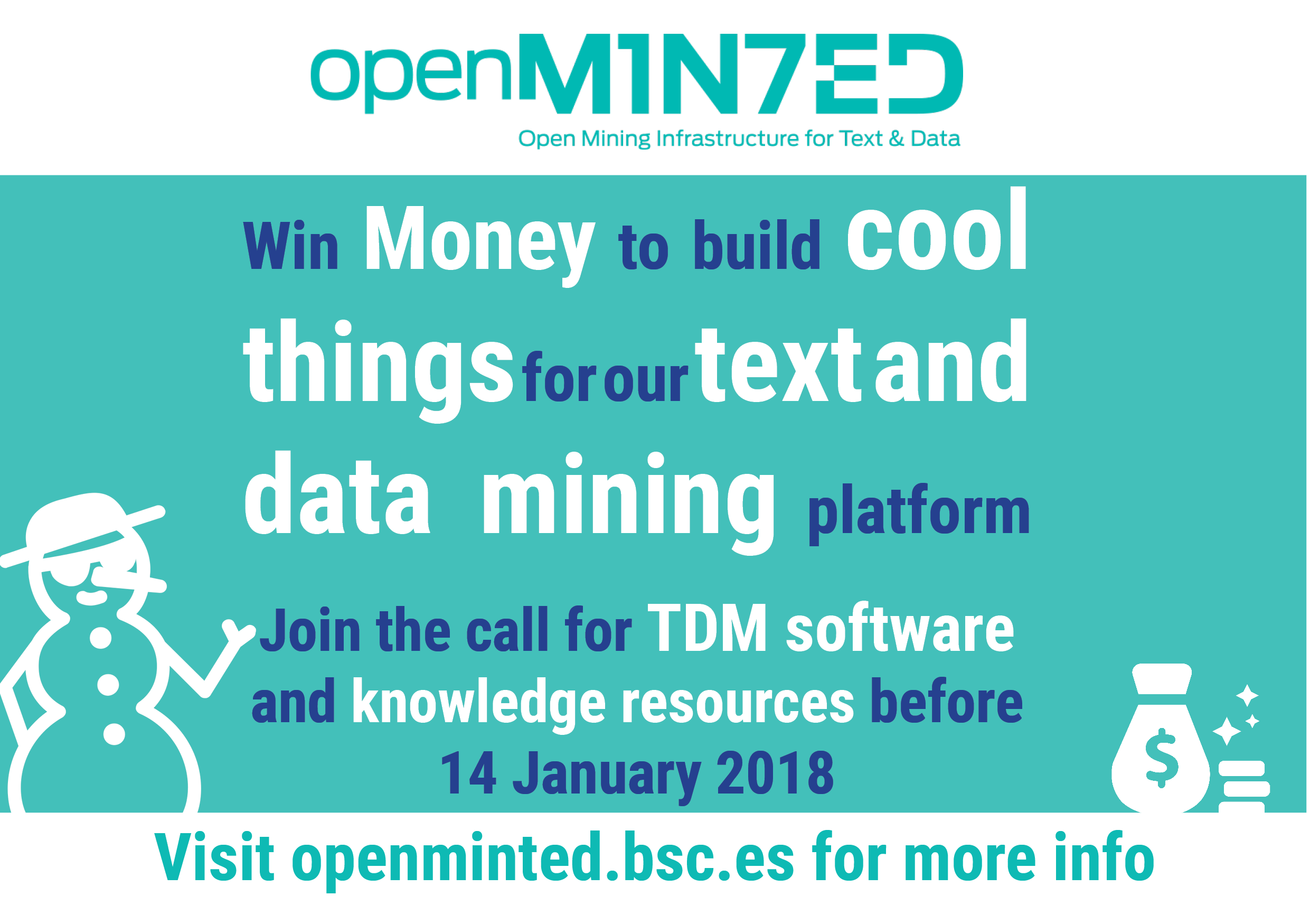 Join the call for TDM software and Knowledge Resources