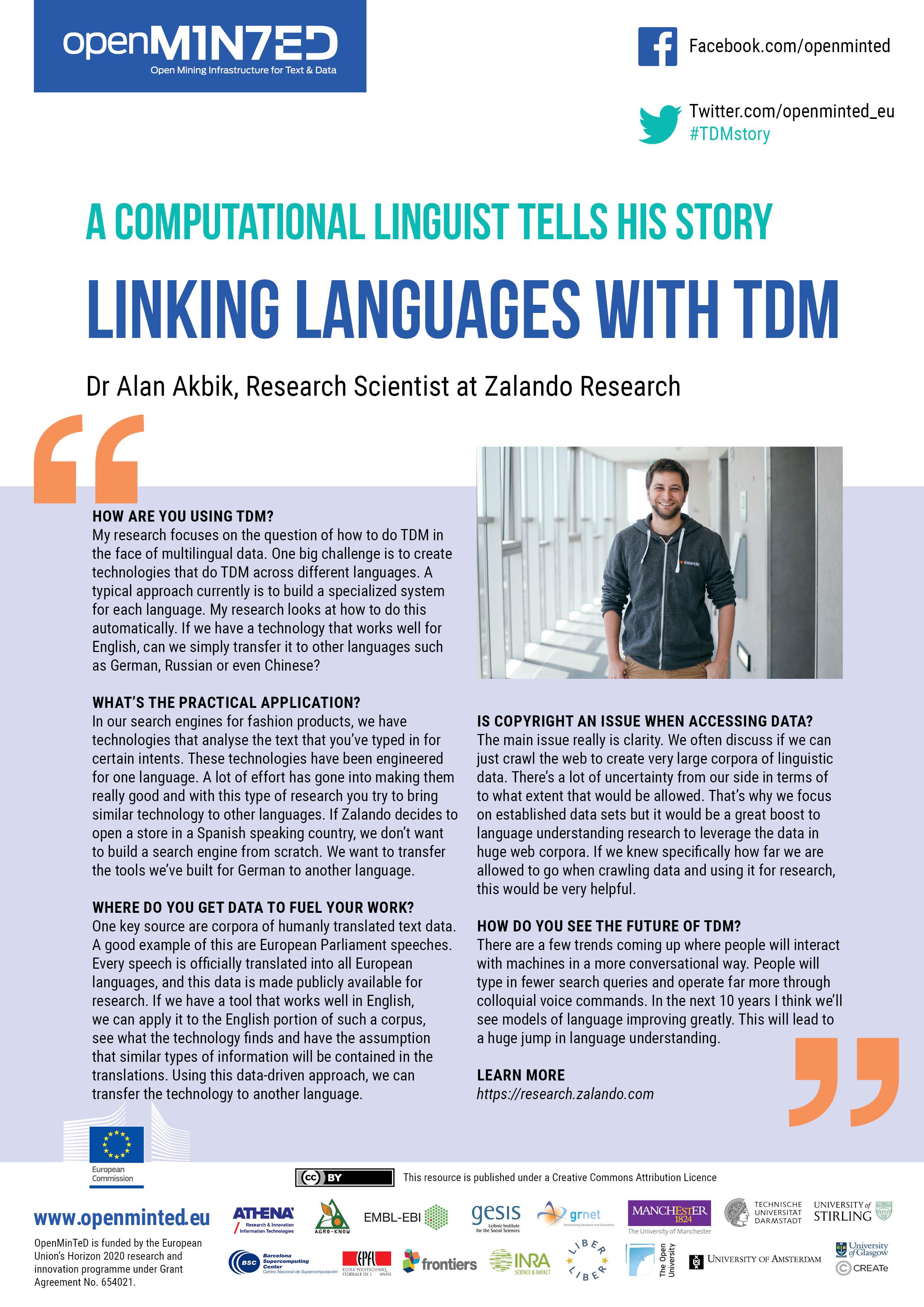 TDM Stories: How Zalando Links Languages With TDM