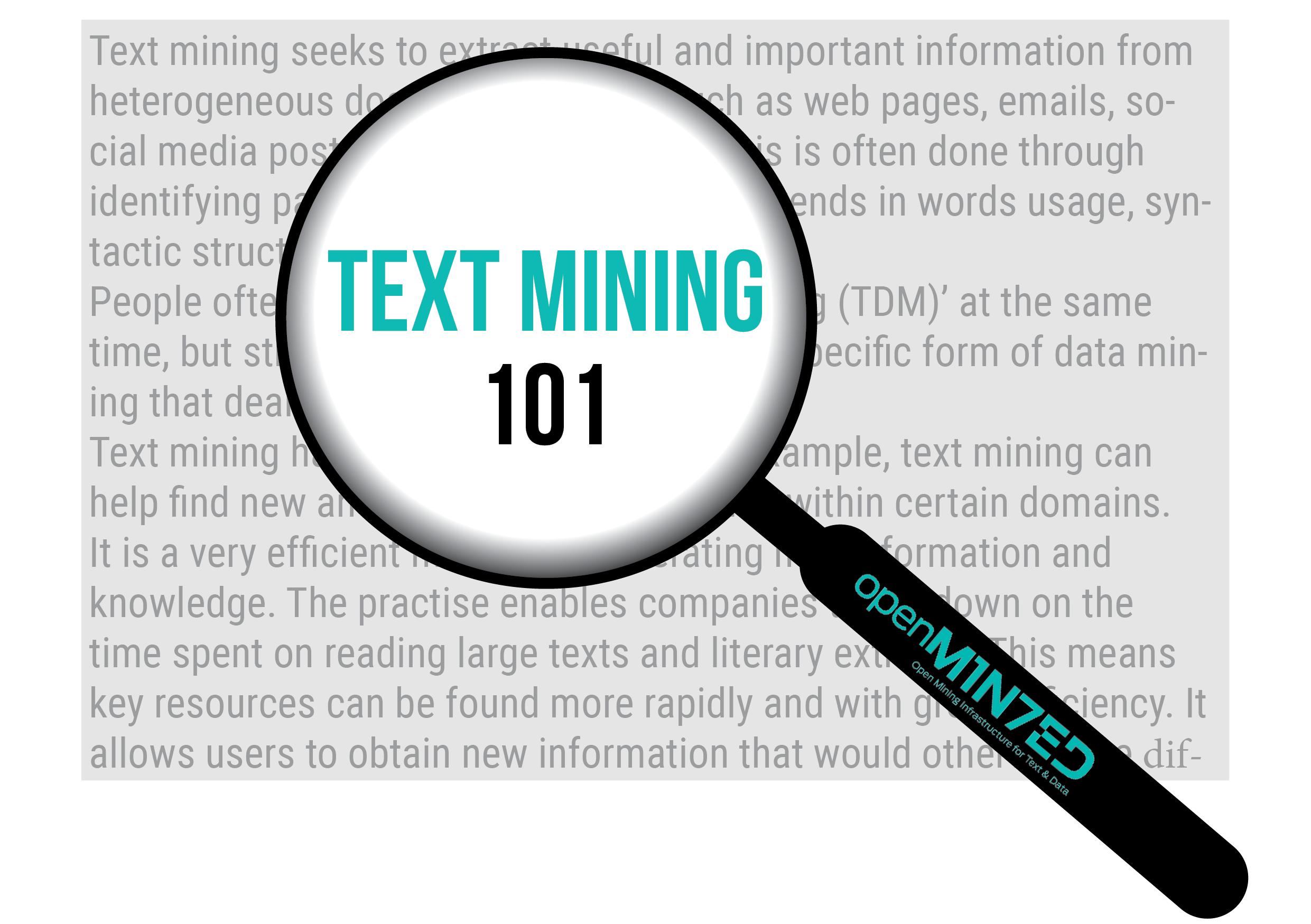 Text mining 101
